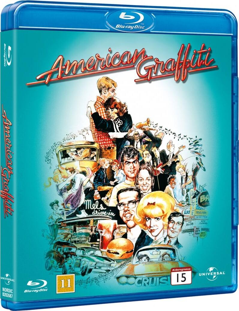 Image of   American Graffiti / Sidste Nat Med Kliken - Blu-Ray