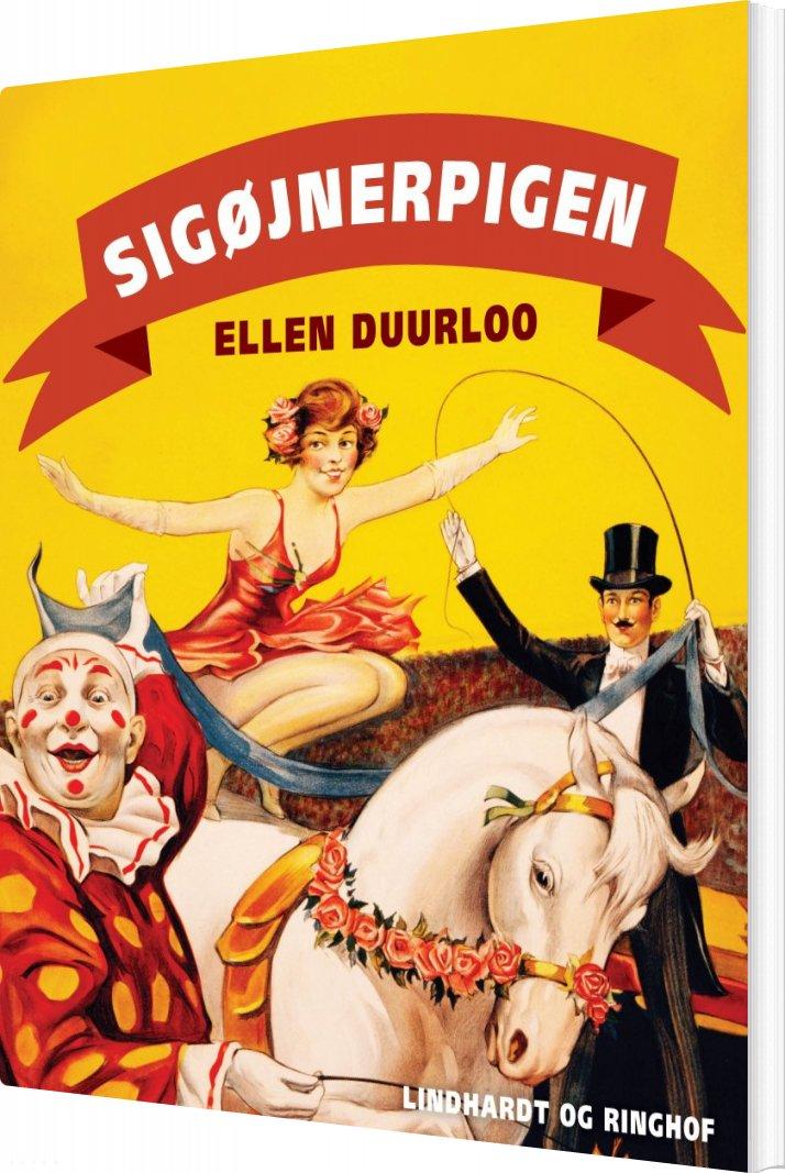Sigøjnerpigen - Ellen Duurloo - Bog
