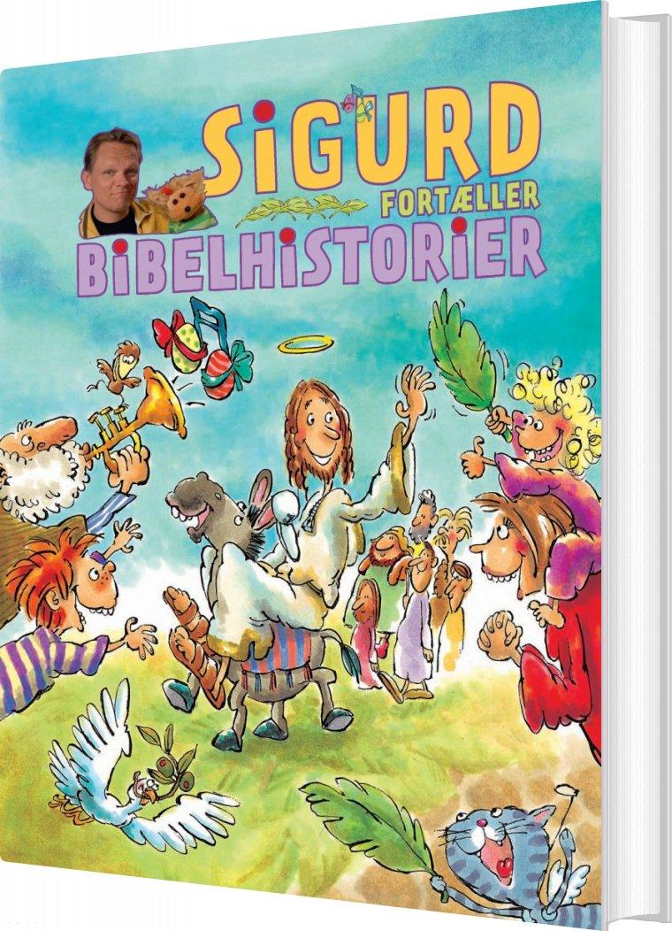Image of   Sigurd Fortæller Bibelhistorier - Sigurd Barrett - Bog