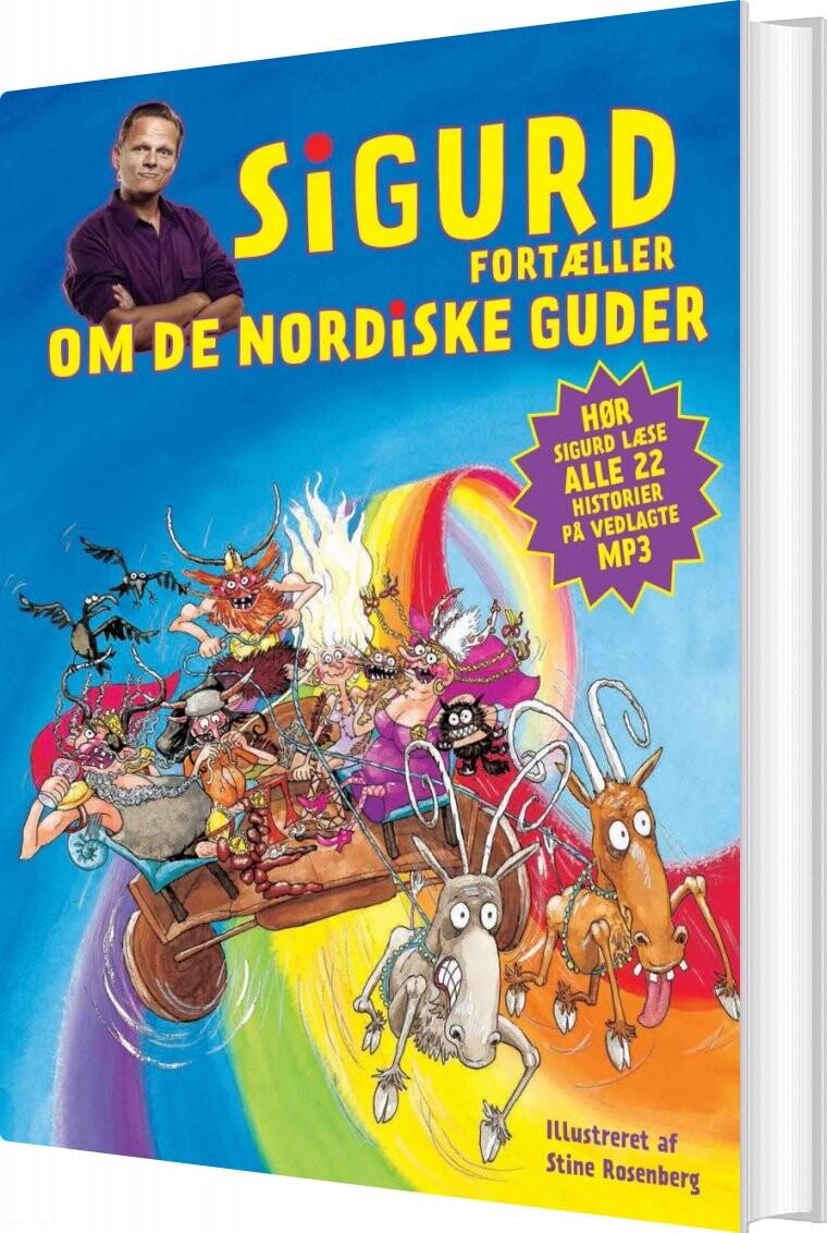 Billede af Sigurd Fortæller Om De Nordiske Guder - Sigurd Barrett - Bog