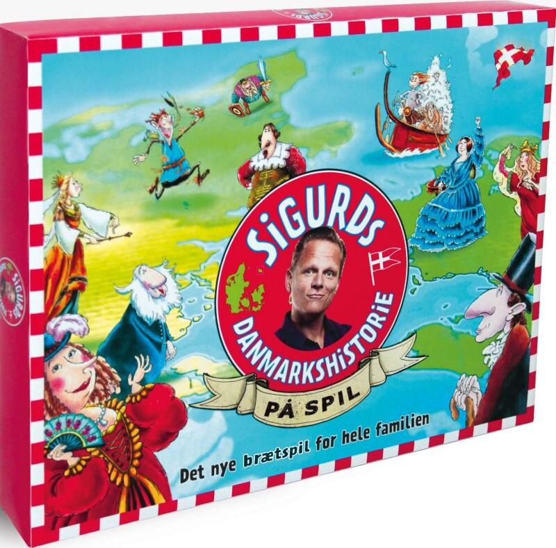 Sigurds Danmarkshistorie På Spil - Brætspil Af Sigurd Barrett