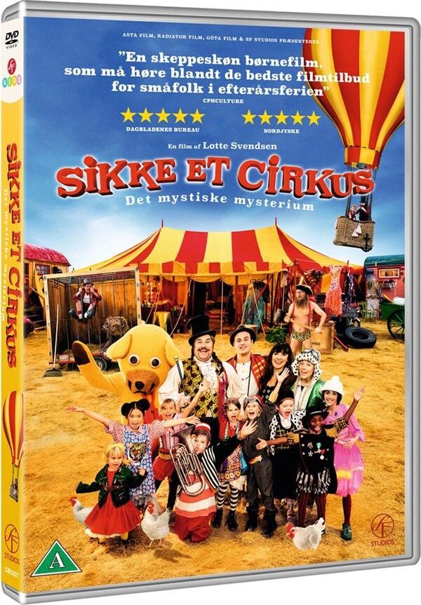 Image of   Sikke Et Cirkus - Det Mystiske Mysterium - DVD - Film