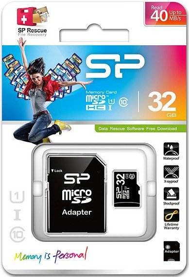 Image of   Silicon Power - Micro Sd-kort - 32gb Uhs-1 I Class 10