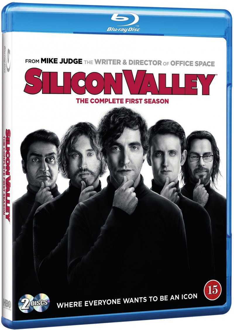 Image of   Silicon Valley - Sæson 1 - Hbo - Blu-Ray - Tv-serie