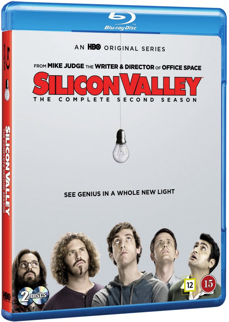 Image of   Silicon Valley - Sæson 2 - Hbo - Blu-Ray - Tv-serie