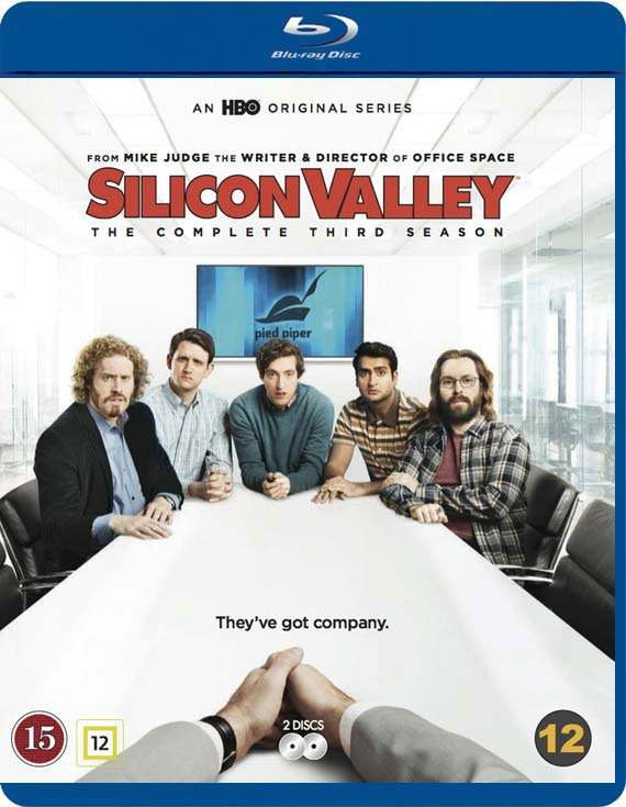 Silicon Valley - Sæson 3 - Hbo - Blu-Ray - Tv-serie