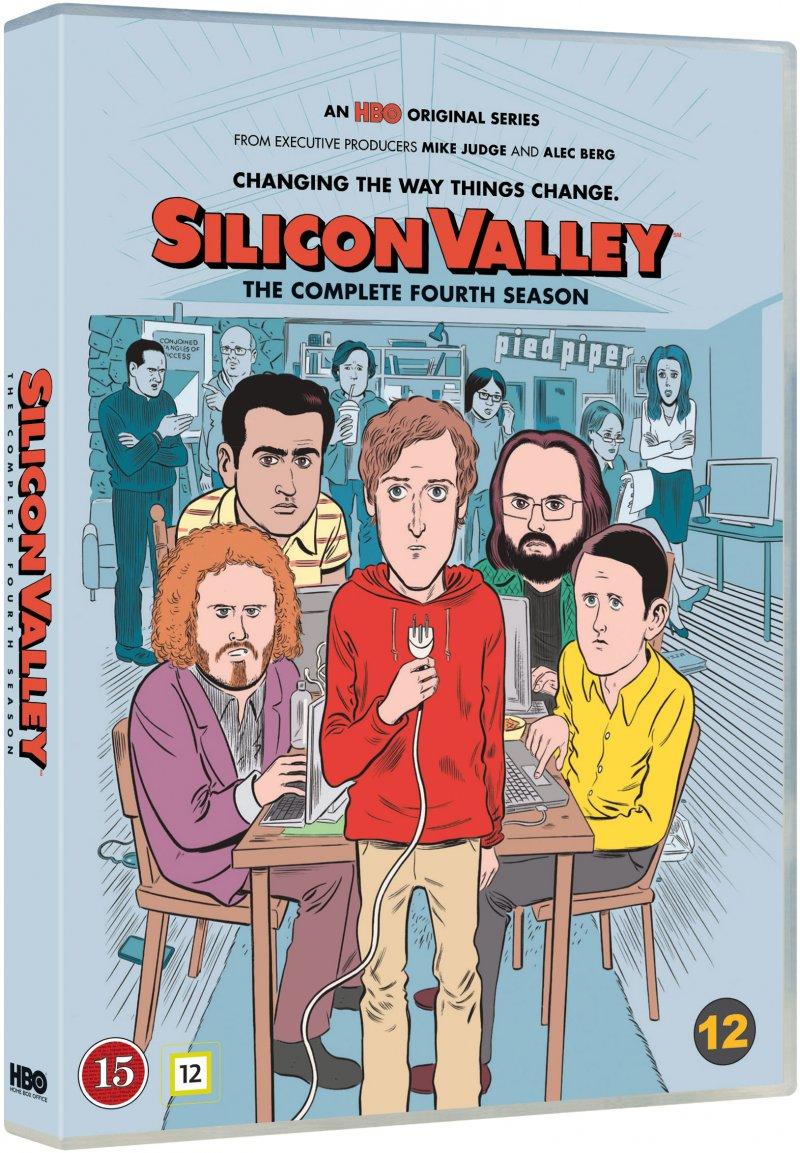 Billede af Silicon Valley - Sæson 4 - Hbo - DVD - Tv-serie