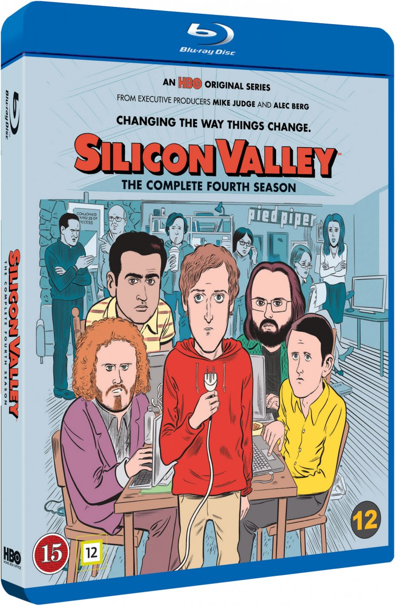 Silicon Valley - Sæson 4 - Hbo - Blu-Ray - Tv-serie