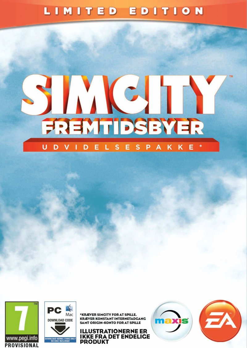 Image of   Simcity - 2013: Fremtidsbyer - Cities Of Tomorrow - Limited Edition - Pc/mac - PC
