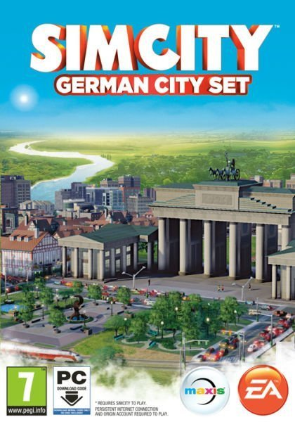 Image of   Simcity (2013) German City Set (code In A Box) - PC