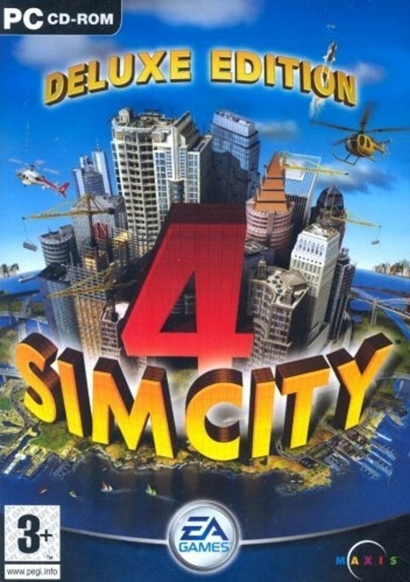 Image of   Simcity 4 Deluxe Edition - PC