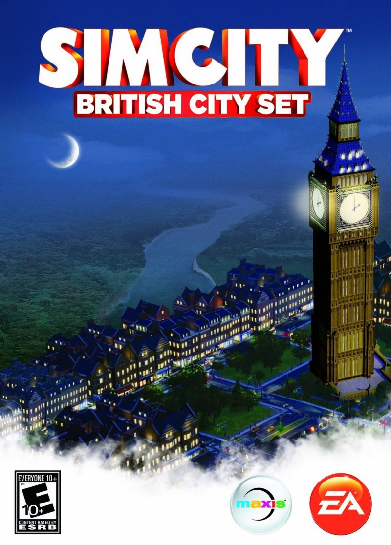 Image of   Simcity London City - British City Set - PC