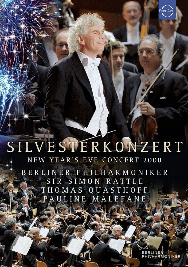 Image of   Simon Berliner Philharmoniker Silvesterkonzert 2008 - Blu-Ray