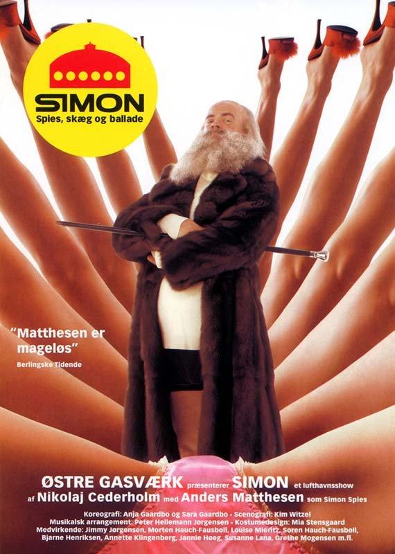 Image of   Simon - Spies Skæg Og Ballade - DVD - Film
