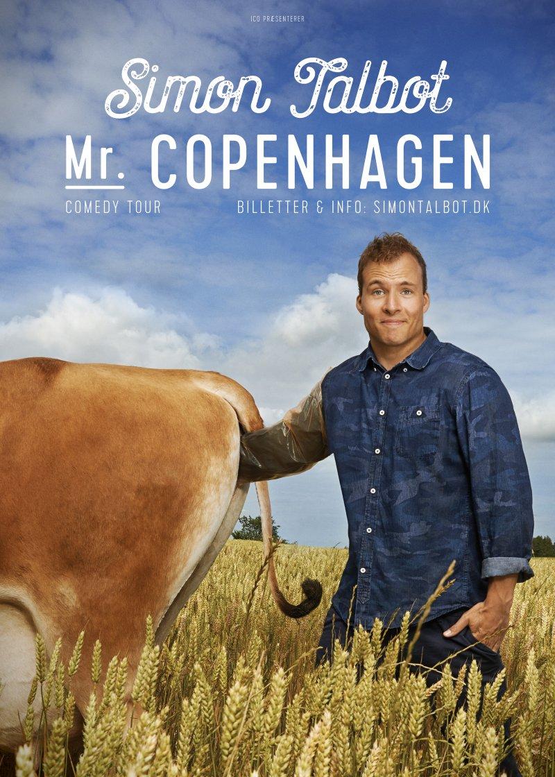 Image of   Simon Talbot - Mr. Copenhagen - DVD - Film