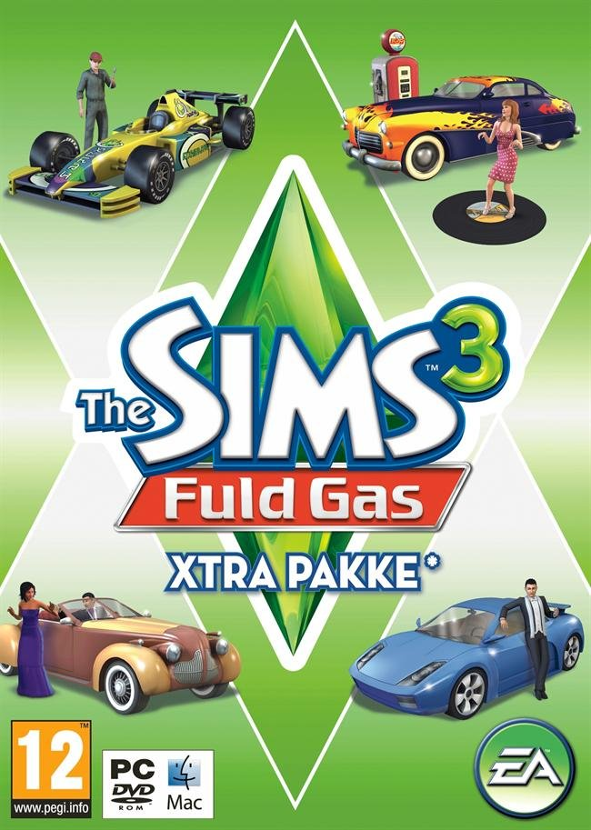 Image of   The Sims 3: Fuld Gas (fast Lane Stuff Pack) - PC