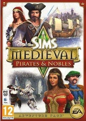 Image of   Sims Medieval Pirates And Nobles Udvidelsespakke - No/dk - PC