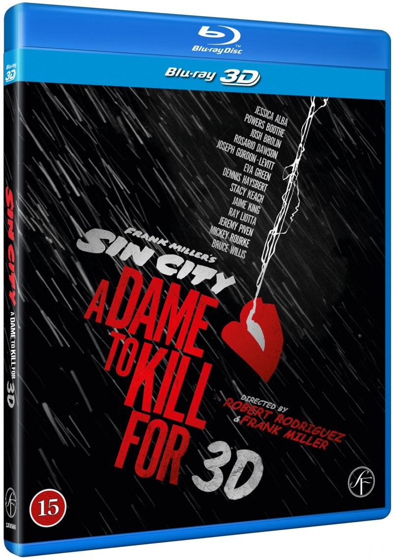 Image of   Sin City 2 - A Dame To Kill For - 3D Blu-Ray