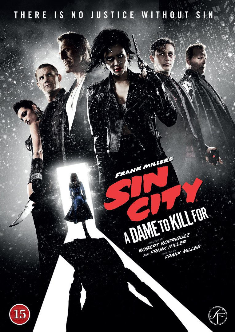 Image of   Sin City 2 - A Dame To Kill For - DVD - Film