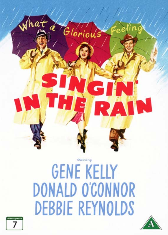 Image of   Singing In The Rain - DVD - Film