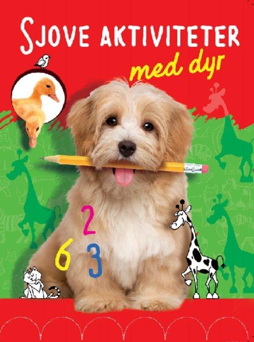 Image of   Sjove Aktiviteter Med Dyr - Hund - Diverse - Bog