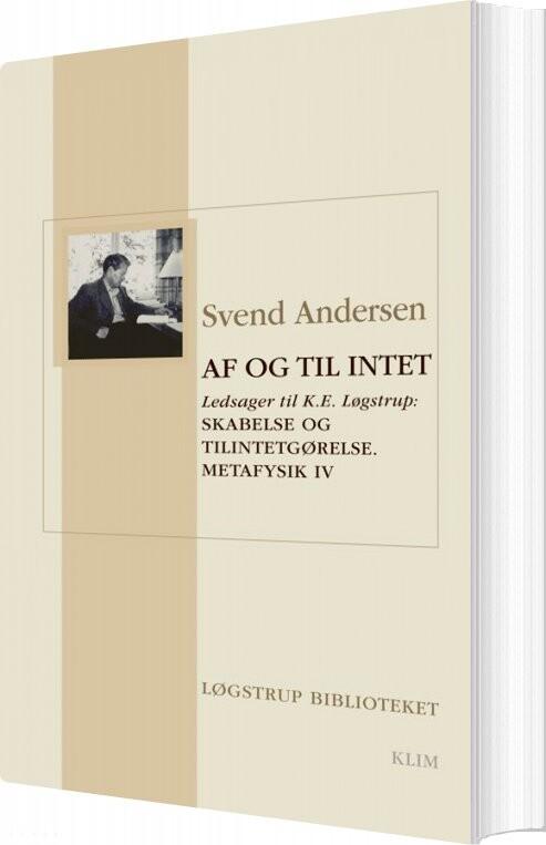 Image of   Af Og Til Intet - Svend Andersen - Bog