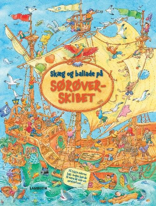 Skæg Og Ballade På Sørøverskibet - Bärbel Müller - Bog