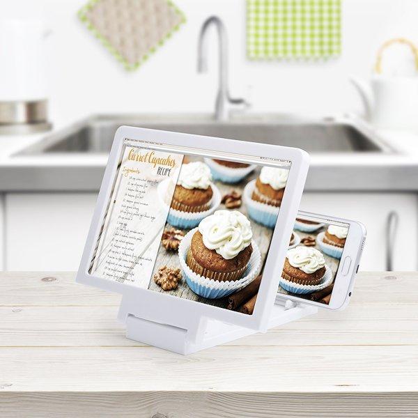 Image of   Skærmforstørrer Til Mobil Og Tablet - Hvid
