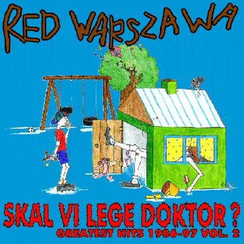Red Warszawa - Skal Vi Lege Doktor / Julemandens Selvmordsbrev - Vinyl / LP