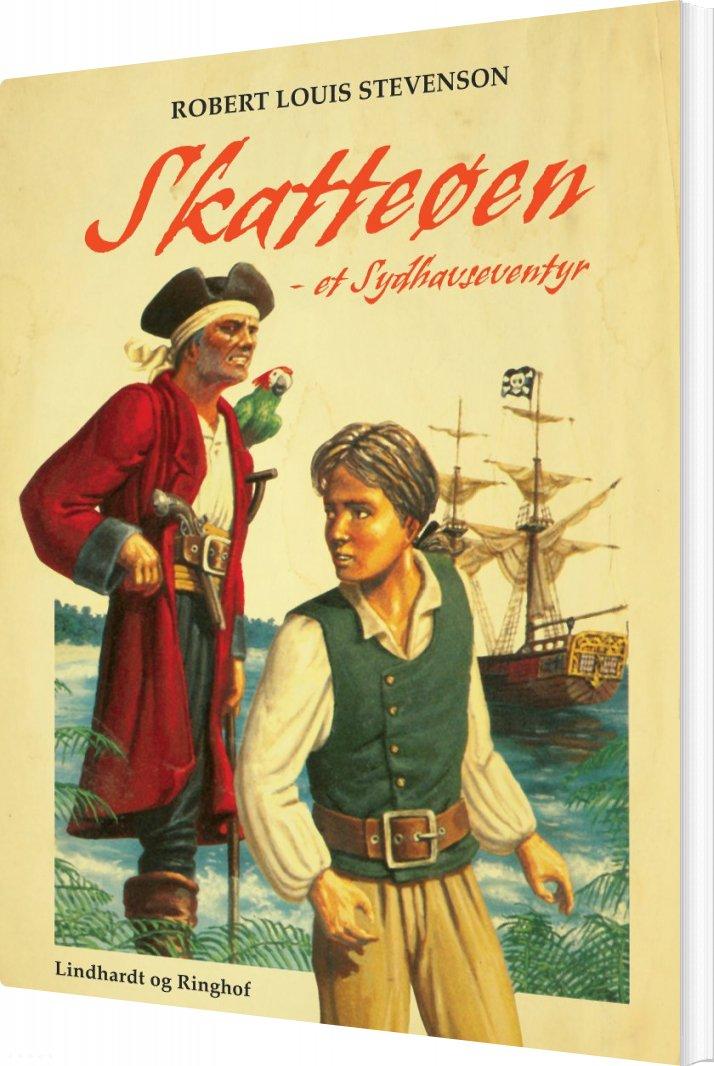 Skatteøen: Et Sydhavseventyr - Robert Louis Stevenson - Bog