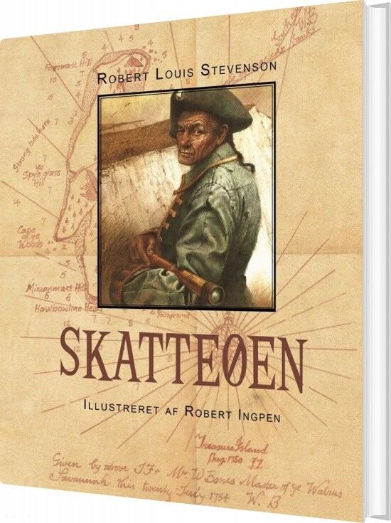 Image of   Robert Ingpen: Skatteøen - Robert Stevenson - Bog
