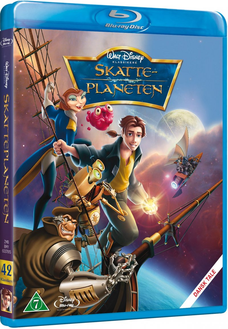 Skatteplaneten / Treasure Planet - Disney - Blu-Ray