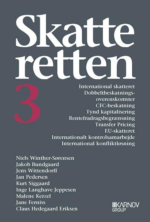 Image of   Skatteretten 3 - Jan Pedersen - Bog