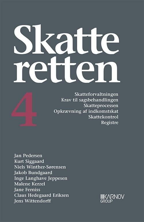 Image of   Skatteretten 4 - Jan Pedersen - Bog