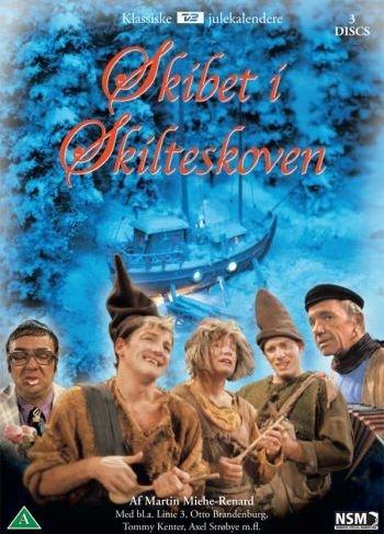Skibet I Skilteskoven - Tv2 Julekalender - DVD - Tv-serie