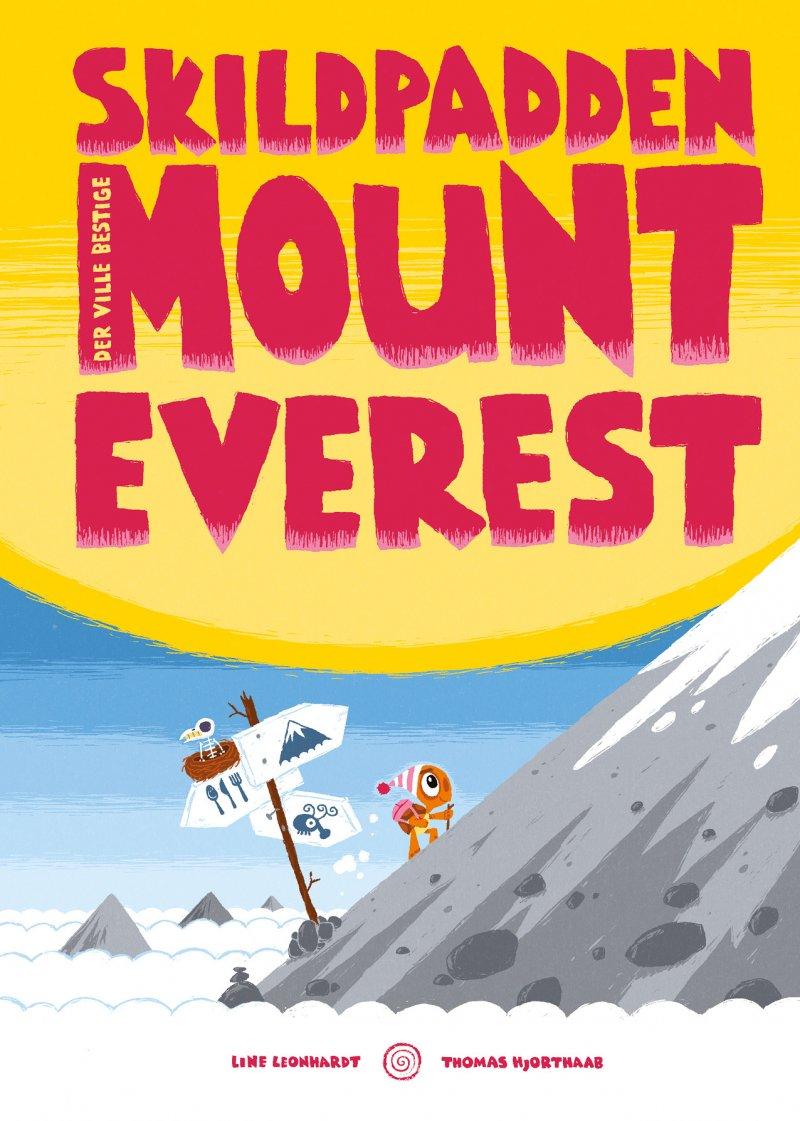 Skildpadden Der Ville Bestige Mount Everest - Line Leonhardt - Bog