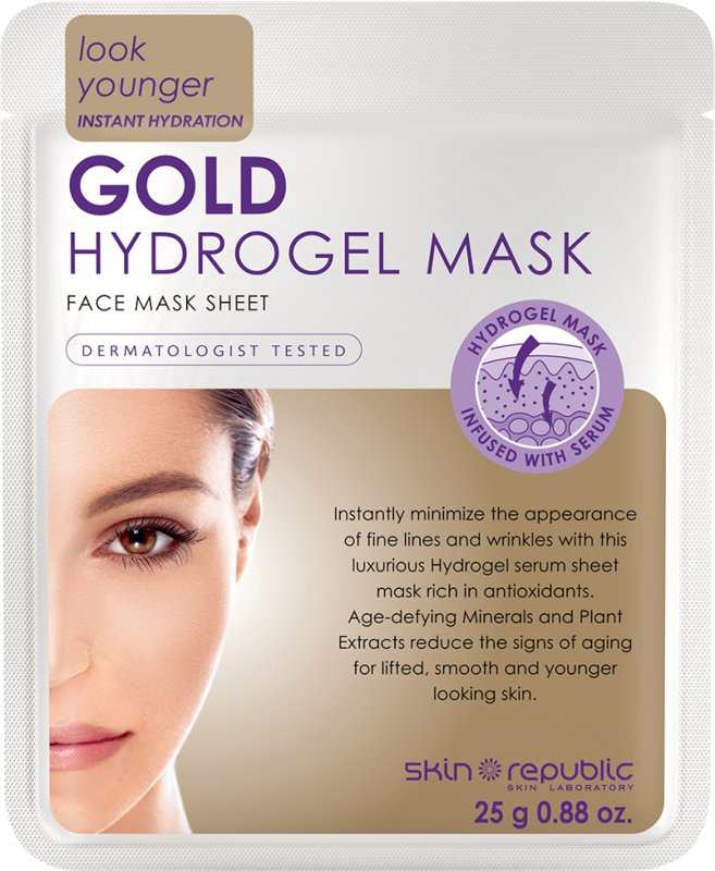 Image of   Skin Republic Gold Hydrogel Face Sheet Mask