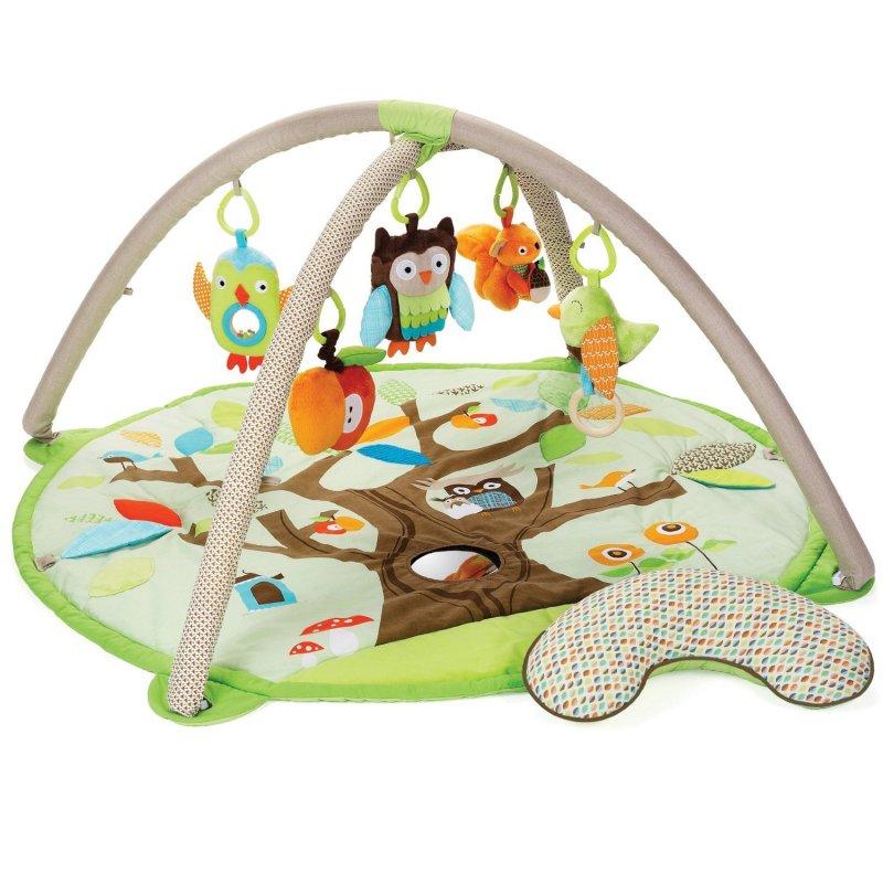 Image of   Skip Hop Aktivitetstæppe / Legetæppe Til Baby - Tree Top Friends