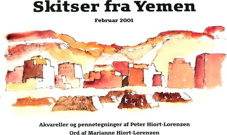 Image of   Skitser Fra Yemen - Marianne Hjort-lorenzen - Bog