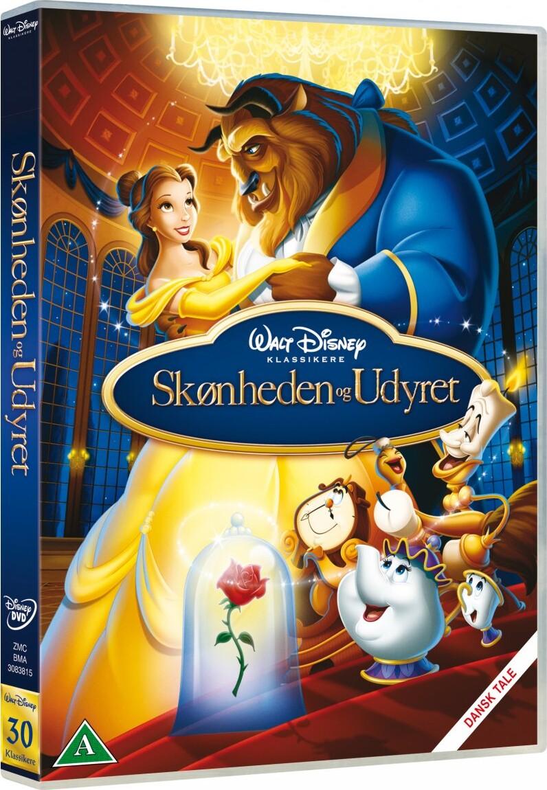 Image of   Beauty And The Beast / Skønheden Og Udyret - Disney - DVD - Film