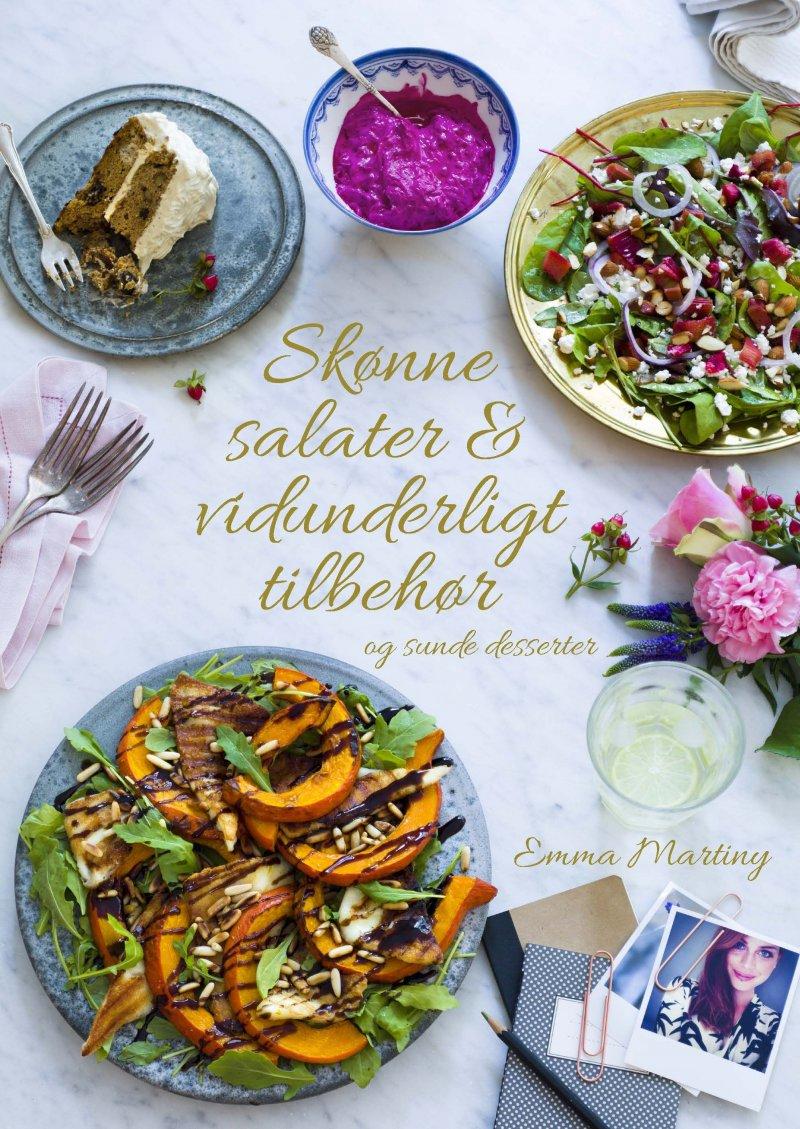 Image of   Skønne Salater Og Vidunderligt Tilbehør - Emma Martiny - Bog