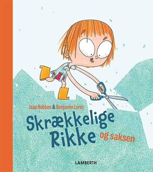 Image of   Skrækkelige Rikke Og Saksen - Jaap Robben - Bog