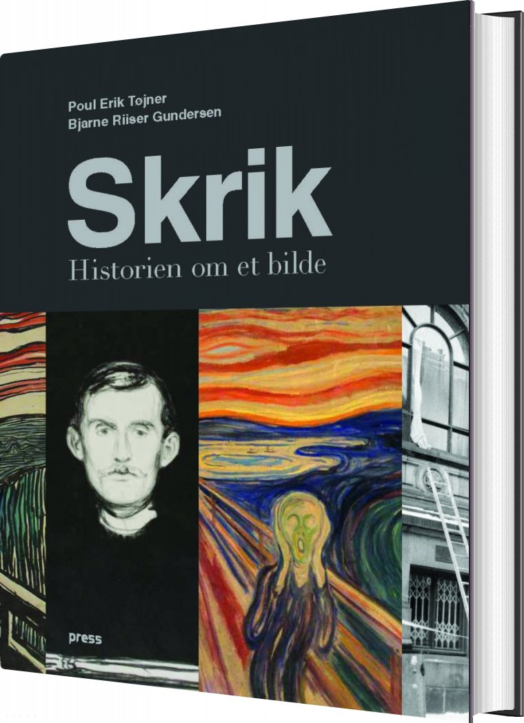 Image of   Skrik - Poul Erik Tøjner - Bog