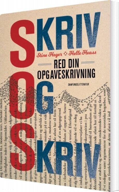 Image of   Skriv Og Skriv - Stine Heger - Bog
