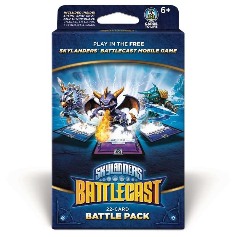 Image of Skylanders Battlecast Kort - 22 Card Battle Pack A