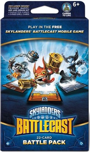 Image of Skylanders Battlecast Kort - 22 Card Battle Pack B