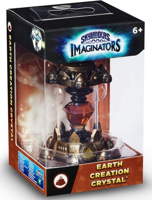 Image of   Skylanders Imaginators Creation Crystal - Earth