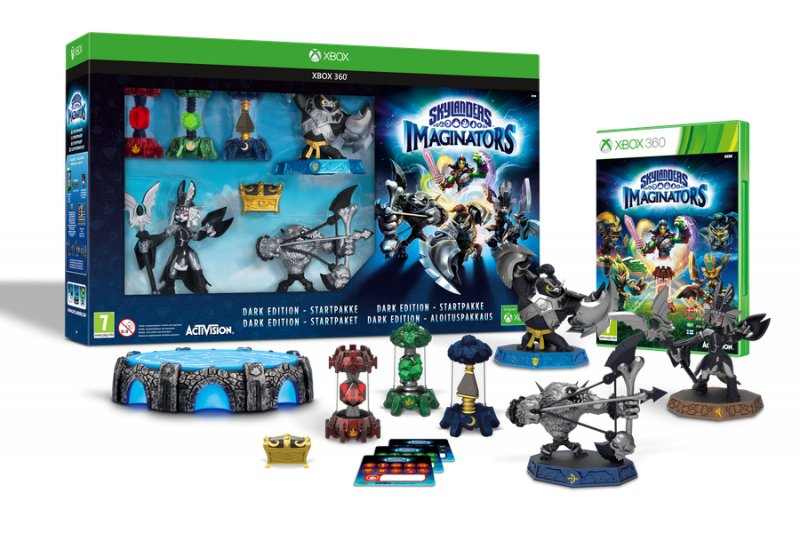 Image of   Skylanders Imaginators - Dark Creation Starter Pack (nordic) - Xbox 360