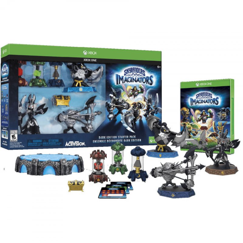 Skylanders Imaginators Starter Pack Dark Edition - Xbox One