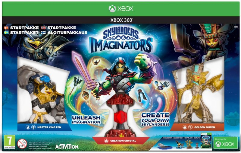 Image of   Skylanders Imaginators - Starter Pack (nordic) - Xbox 360